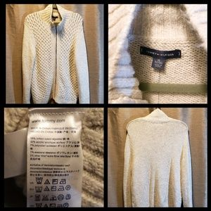 NWT Tommy Filger Cable Knit Cardigan